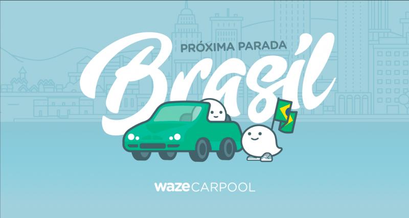 Como usar Waze Carpool no Brasil