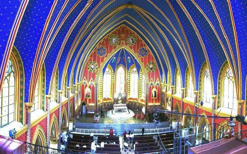 Basílica Nossa Senhora do Rosário, a igreja dos Arautos do Evangelho na Serra da Cantareira
