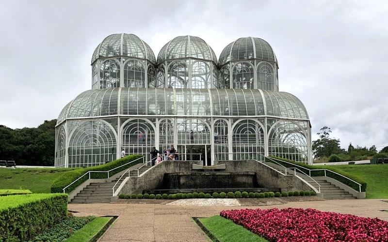 Jardim Botânico de Curitiba é garantia de ótimas fotos