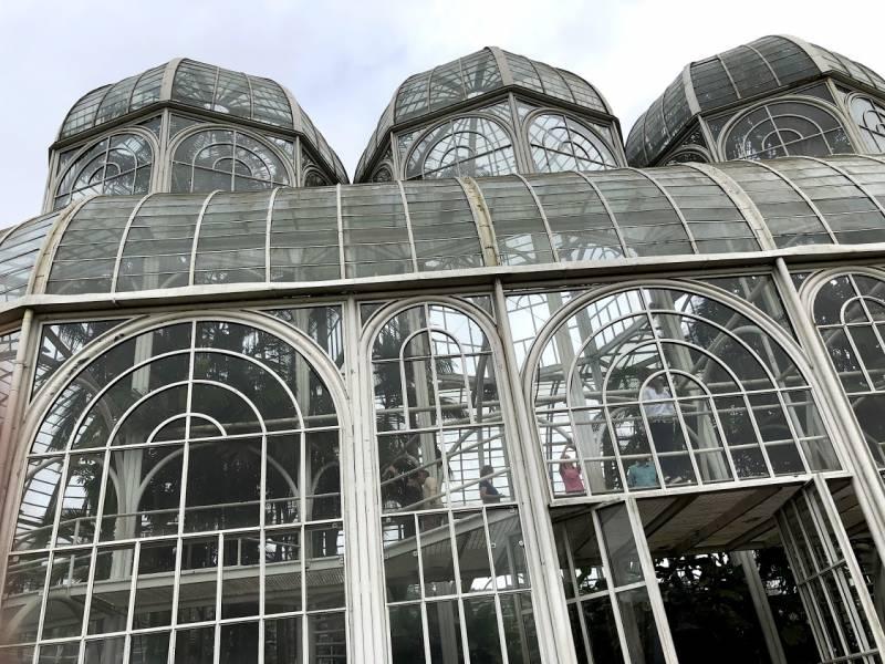 Jardim Botânico de Curitiba (foto: Alan Corrêa)